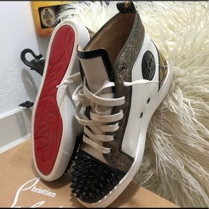 Christian Louboutin - Patent Leather Spikes - Sz 8